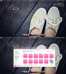 Screenshot Blue shoes by Isfe