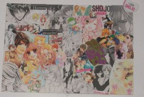 I LOVE SHOJO - Collage by TheAMe