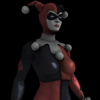 IGAU - Harley Quinn - Bad Girl/Classic DLC by Postmortacum