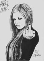 .:.Middle Finger Salute.:. by TinniTheTwilightGirl