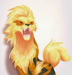 Arcanine by sugarbubblegum333