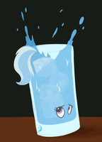 My Little Drinks: Ursa Trixie by TFinEquestria