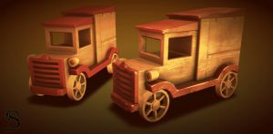 Wood Toy Car by sasa454