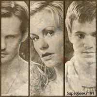 TB - Eric, Sookie + Godric by SuperGeek7191