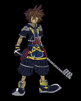 Kingdom Hearts - Sora by MsNele