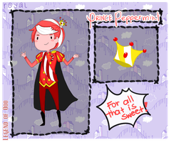 :LoO: Prince Peppermint by Hourglass34