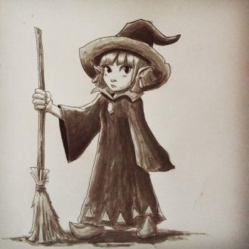 Inktober#24 - Irene by Marcos-A-Rodrigues