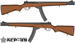 Valkyrie Munitions ACP-39 Carbine by Stellalupus