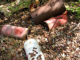 Rusted Cans 2 by Altaria13-Stock