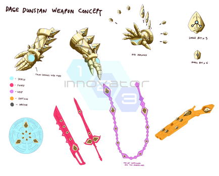 Commission: Dage Dunstan Weapon Concept by innovator123