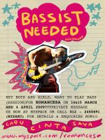 Bassist Needed by nimbusnymbus