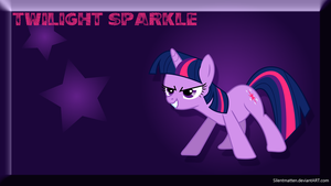 Twilight Sparkle Wallpaper by Silentmatten