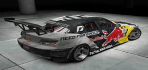 Mad Mike's Red Bull RX-8 Rear by CarlostheBat36