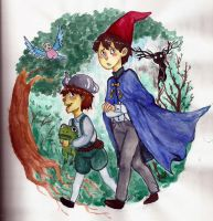 Over The Garden Wall by Rabbicorn