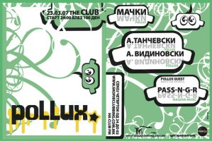 pollux monthly party by indog