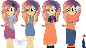 CONTEST SUBMISSION: Dusk's Clothes (All Seasons) by Winter-Wondermare
