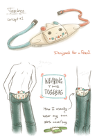 Togekiss 3DS Carrying Case Design by Sir-Herp