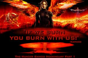 The Girl On Fire by InfiniteFanForever
