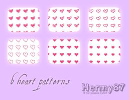 Heart patterns by Hermy87