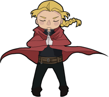 Edward Elric by bishi-beast