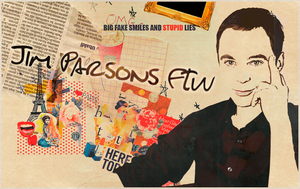 Jim Parsons Wall by ManonGG