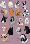 dog icons - NON-SPORTING GROUP by shelzie