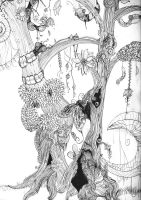 The Insect Tree by atronache