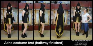 Ashe League of Legends Test Half Way by ShinjusWorkshop