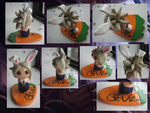Battle Bunny Riven Signed Figure :3 by GrapeFruitPunch