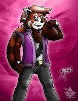 Alex the Red Panda by Arbok-X