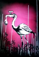 Babelflamingo by tomme