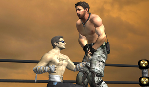 Cage vs Redfield 01 by MMPW
