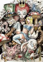 Alice in wonderlands by Vinz-el-Tabanas