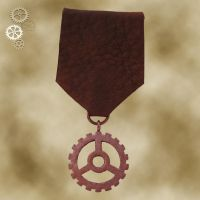 Steampunk Medal 2a by Utinni