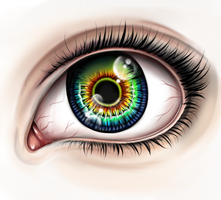 Realistic Eye by VeronicaZoo