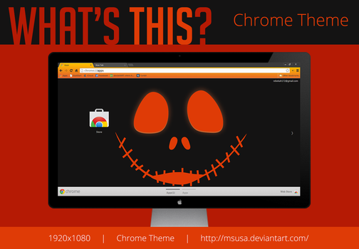 What's This 1920x1080 Chrome Theme by MsUSA