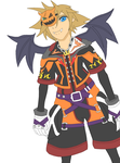 Sora (Halloween Time - Base Colors) by SwordOfLegends