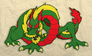 Year of the Dragon by fryguy64