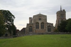 Elstow Abbey by tammyins