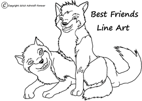 Wolf Pups BestFriends Base by AshWolf-Forever