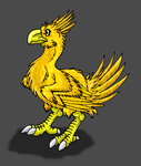 Fanart-Chocobo by Scatha-the-Worm