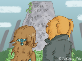 HSS: Ancient Language by JediAnnSolo