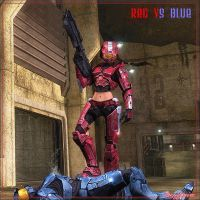 RedVsBlue.... by ubald007