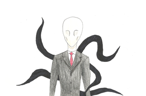 Slenderman by bojangle387