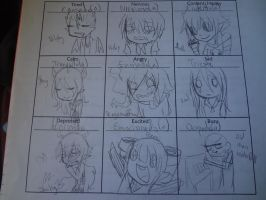 Emotions from Le Spanish Class by SoulPitch