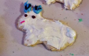 Jackalope X-mas Cookie!!! by KINGOOB