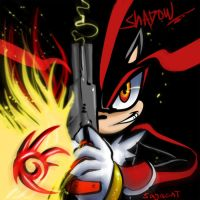 SHADOW THE HEDGEHOOOG whoo by Sayacat