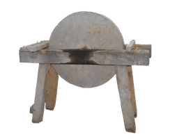 Old Sharpening Stone Wheel PNG.. by Alz-Stock-and-Art
