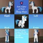 Custom Shining Armor by AleximusPrime