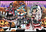 Halloween Trio by shrimpHEBY